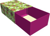 Gift wraps according to the matchbox principle