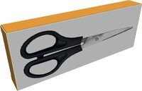 Boxes for scissors