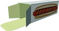 Hot dog boxes
